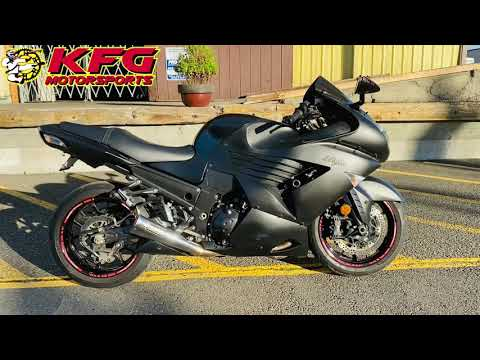 2007 Kawasaki Ninja® ZX™-14 in Auburn, Washington - Video 1