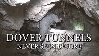 DOVER WW2 TUNNELS -- NEVER SEEN BEFORE --