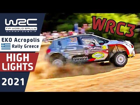 WRC3 2021 ラリー・ギリシャ Day1ハイライト動画