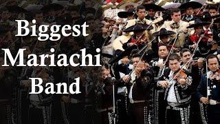 Worlds Biggest Mariachi Band - Guiness World Record