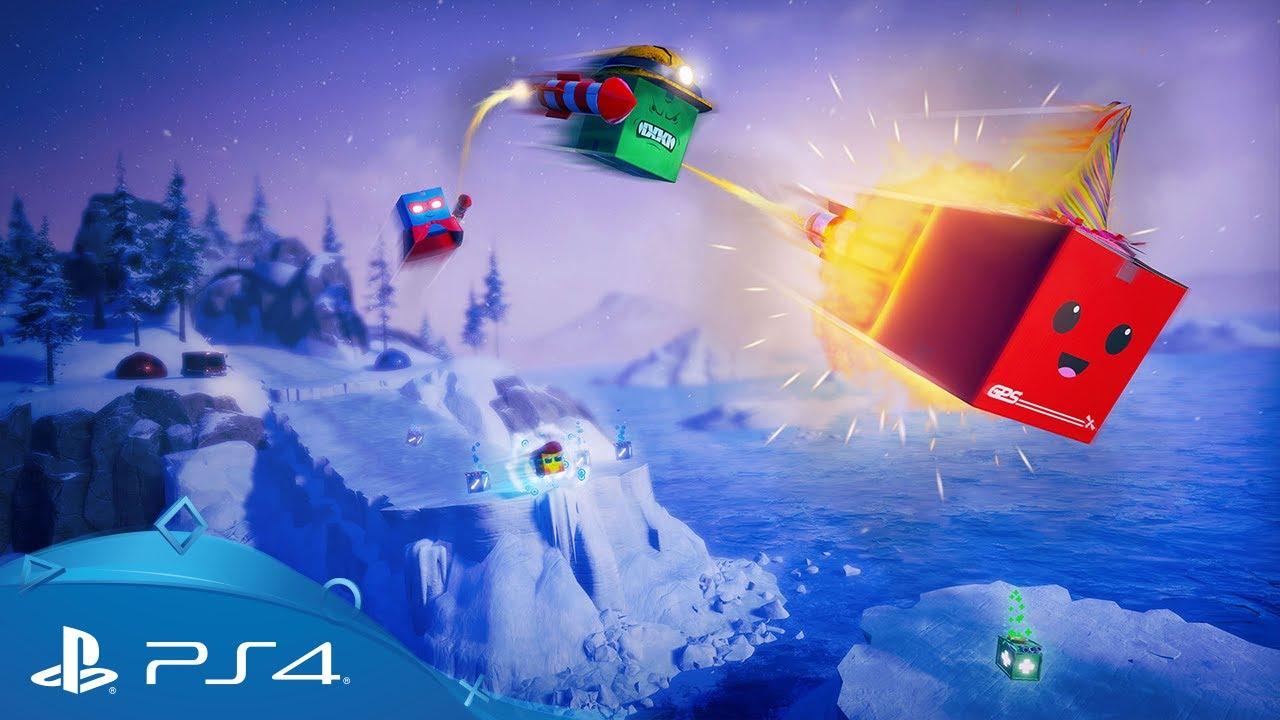 Die Top Tipps fürs Überleben der fünf Multiplayer-Modi im 3D-Jump'n'Run Unbox: Newbie's Adventure auf PS4