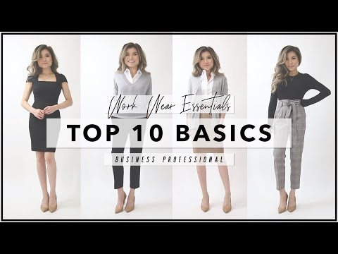 10 WORKWEAR ESSENTIALS Every Woman Needs to Own | How to Start Your First Work Wardrobe | Miss Louie