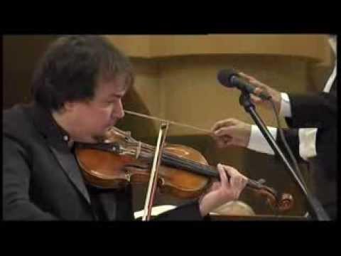 П. Чайковский. Концерт для скрипки с оркестром. Солист Сергей Крылов