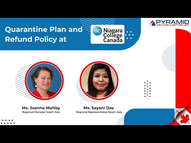 Get to know the #quarantine plan and #refund policy at #Niagara College