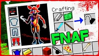 Minecraft FNAF - How to Become FOXY in FIVE NIGHTS AT FREDDY