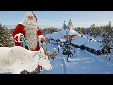 Villaggio di Babbo Natale Santa Claus in Lapponia Finlandia - Rovaniemi per bambini