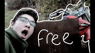 FOUND A FREE PIT BIKE (IT RUNS!)