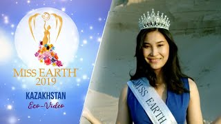 Altynay Assenova Miss Earth Kazakhstan 2019 Eco Video