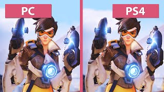 Overwatch – PC vs. PS4 Graphics Comparison