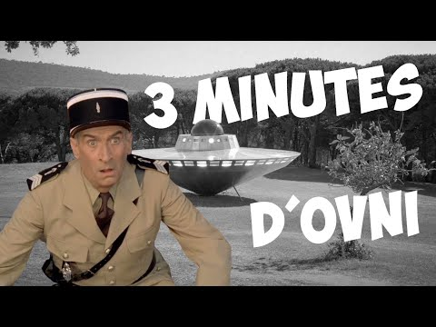 3 minutes d'OVNI avec Louis de Funès !