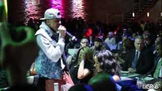 August Alsina Performs at Spotlight Live in NYC, Serenades Angela Yee