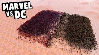 Marvel vs DC Comics Superheroes Fight - Who Wins? - Ultimate Epic Battle Simulator
