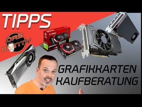 Grafikkarten Kaufberatung/Empfehlung 2017 - Nvidia GeForce GTX/ AMD Radeon Das Monty - Deutsch