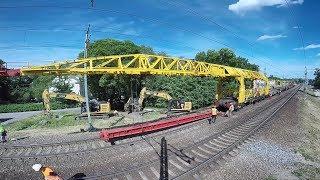 Капитальный ремонт жд за 7 мин / Railway train complete overhaul in 7 min