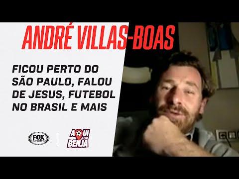 ANDRÉ VILLAS-BOAS FICOU PERTO DO SÃO PAULO, FALOU DE JESUS, FUTEBOL NO BRASIL E + | AQUI COM BENJA!