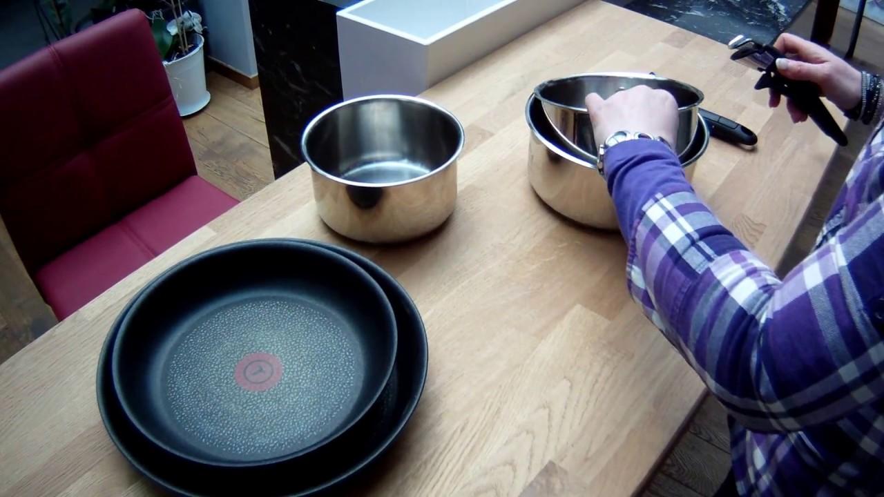 La poignée amovible des poêles et casseroles Ingenio Tefal