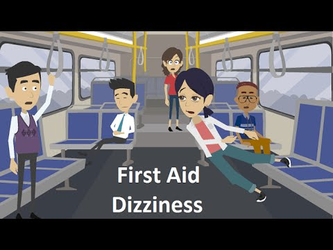 Video How To Treat Dizziness - First Aid Videos