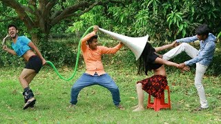 Very Funny Stupid Boys_New Comedy Videos 2020_Episode 66_ By Funkivines