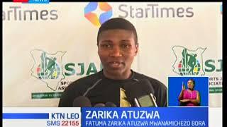 Mwanabondia Fatuma Zarika atuzwa kama mwanamchezaji bora kwa mwezi wa disemba