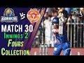 watch Karachi KingsFours   Karachi Kings Vs Islamabad United   Match 30   16 March   HBL PSL 2018