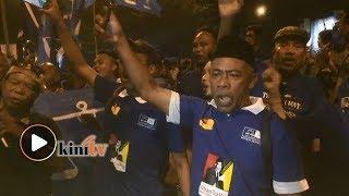 Bagai Pesta, Penyokong PAS-BN Rai Kemenangan Tok Mat