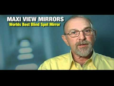 Maxi View Blind Spot Car Safety Mirrors for your Hummer