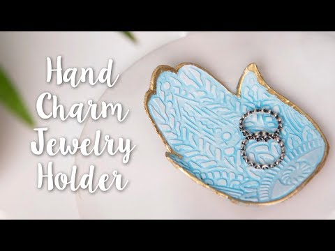 Charming Hand Palm Jewelry Holder! Aesthetic DIY