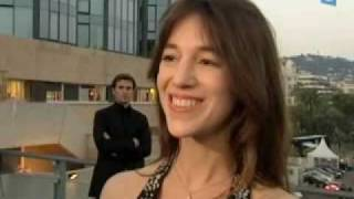 Charlotte Gainsbourg talks about Best Actress Prize after the ceremony