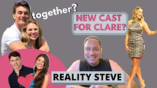 Reality Steve: Hannah and Tyler, Bachelorette Clare's new Men, and the 2020 Bachelor Schedule