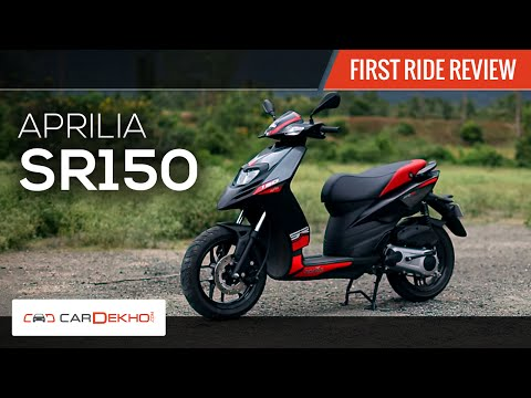 Aprilia SR150 | Premium Scooter | First Ride Review | BikeDekho