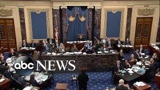 Senate impeachment trial of President Trump: Day 1
