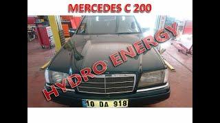 Mercedes C 200 hidrojen yakıt sistem montajı