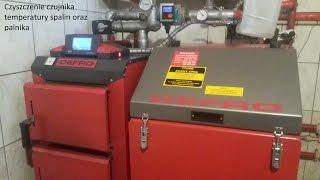 Czyszczenie czujnika temp. spalin oraz palnika (DEFRO Komfort Eko Duo Uni R 15kW)