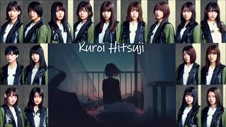 [Thai sub/LYRICS - Eng] Keyakizaka46 [欅坂46] - kuroi hitsuji