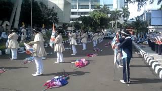 Penampilan Marching Band Akademi Meteorologi Dan GeofisikaAMG 270614