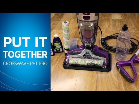 How to Assemble and Use Your CrossWave® Pet Pro