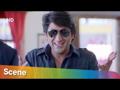 Arshad Warsi Puts Ajay Devgan Behind The Bar - Golmaal Returns - Comedy Scene - Bollywood