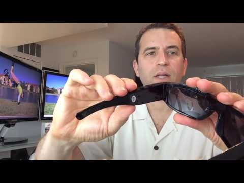 Forestfish Sunglasses with Camera With HD 720P Video Recorder