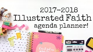 NEW ILLUSTRATED FAITH AGENDA PLANNER FROM DAYSPRING!