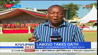 Isaac Ruto comes out strongly to support Bomet governor-elect, Joyce Laboso