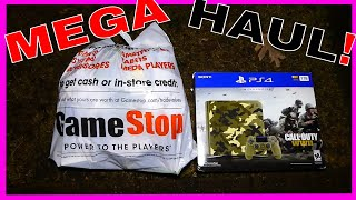 MEGA DUMPSTER HAUL!! GAMESTOP DIVE Night #400