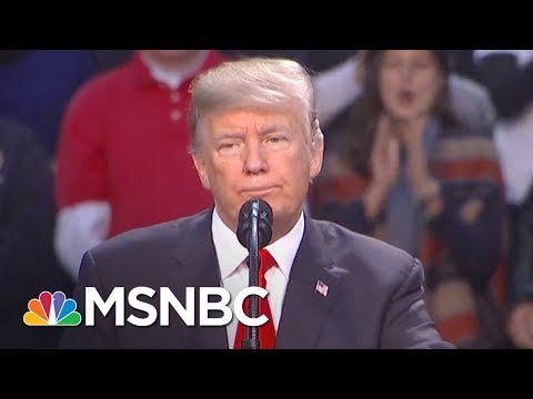 President Donald Trump Fully Endorses Roy Moore At Florida Rally | The Last Word | MSNBC
