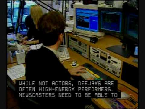 Radio And TV Announcers Careers Overview