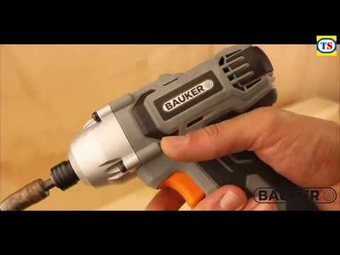 Bauker 18V Cordless Combi Drill & Impact Driver Twin Pack