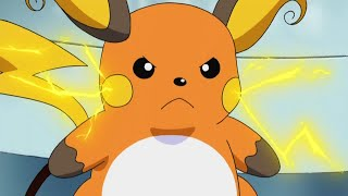 Raichu  - (Pokémon) - Ash's Pikachu Evolves Into Raichu