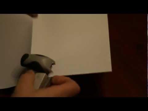 Turn A Cheap Stapler Into A Booklet Stapler