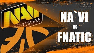 NAVI VS FNATIC - BEST MOMENTS