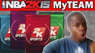 NBA 2K15 MyTeam Pack Opening - 50/50 PACKS ARE IN!!  - NBA 2K15 MyTeam Packs