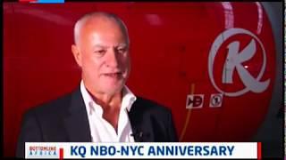 KQ Nairobi - New York anniversary | Bottomline Africa