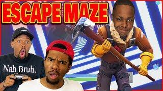 Crazy FUN Escape Room In Fortnite Creative! - Fortnite Season 7 Gameplay